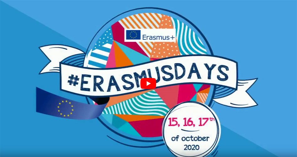 What are #erasmusdays ?